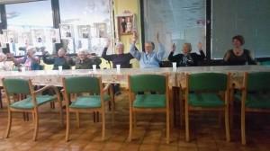 Grupna sjedeća Senior zumba 2
